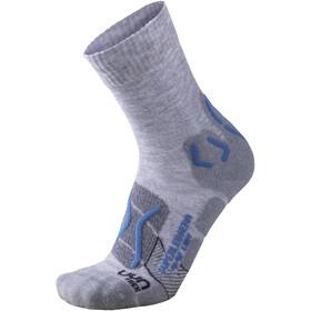 UYN Trekking Superleggera Socks Women Light Grey/Turquoise